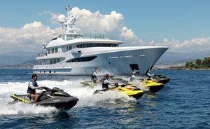 Amels superyacht 'La Mirage' re-joins the charter fleet after major refit