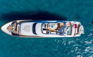 Superyacht AMAYA re-opens for Sardinia yacht charters after refit