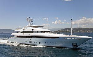 Charter Yacht VICTORY Receives Fresh Paint Job Ahead Of The Summer Season