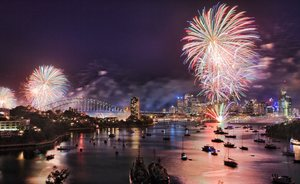 Celebrate New Year's in Sydney Aboard Oceanfast Superyacht SAHANA