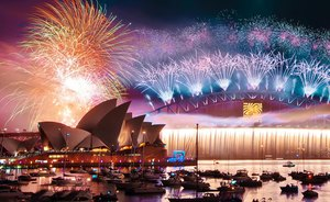 Luxury Yacht CORROBOREE Opens for a New Year's Charter in Sydney