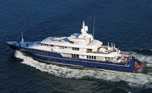Charter yacht 'Triple Seven' to attend Monaco Yacht Show 2019