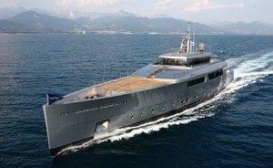 Motor Yacht GRACE E Completes Sea Trials