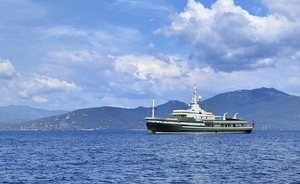 Expedition Yacht STEEL On Show At Yachts Miami Beach