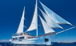 48m sailing yacht CORSARIO offers Croatian charter discount