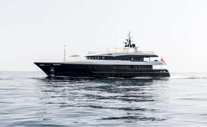 44m yacht AMADEUS I available for Balkans yacht charters this winter