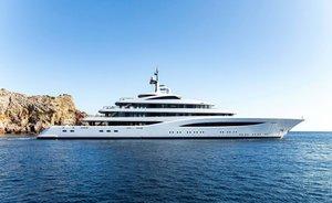 96.5m Feadship superyacht FAITH now for charter