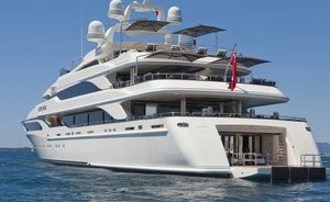 Superyacht SILVER ANGEL in the Maldives