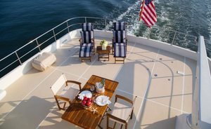 Superyacht NORDFJORD Offers Unique American Charter Experience