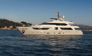 Remaining availability onboard 38m NAMASTE for Greece yacht charters