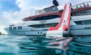 Virgin Islands yacht charter deal: superyacht 'Amarula Sun' offers special rate