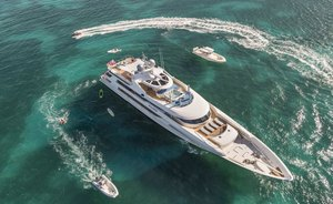 Caribbean charter offer: save 15% with superyacht TRENDING