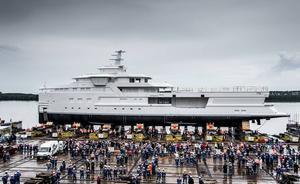 Damen launches expedition yacht 'La Datcha'