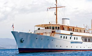 Superyacht MALAHNE Open For Late-Summer Mediterranean Charters