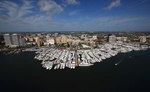 Superyachts get ready for Palm Beach Boat Show 2018