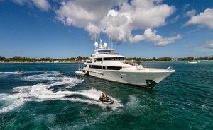 Westport luxury yacht W joins the charter fleet