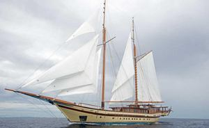 Sailing Yacht LAMIMA Open for Total Solar Eclipse Charter