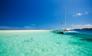Reduction on Yacht Charter Tax in Tahiti