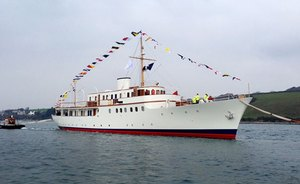 Classic Yacht MALAHNE Available in Greece from July