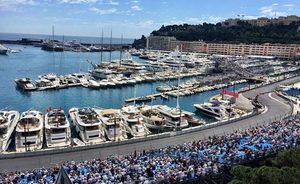 Charter Yachts Make Up The Majority At The Monaco Grand Prix 2016