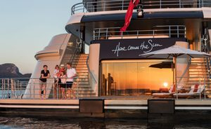Charter Amels Motor Yacht 'Here Comes The Sun' In The Caribbean