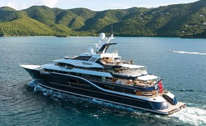 Superyacht SOLANDGE Offers Special Rate for Caribbean Charters