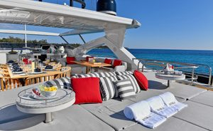 Superyacht EMOJI offers special deal on static yacht charters in the South of France