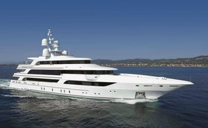 64m superyacht MOCA is available to charter for the first time