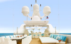Superyacht AQUARIUS Available for Christmas and New Year Charter