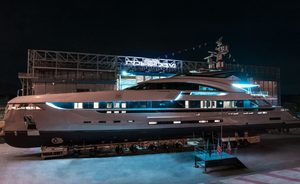 Rossinavi launches 49m 'Project Vector' as superyacht EIV