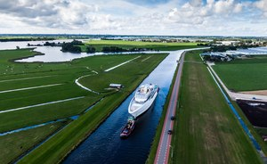 Feadship superyacht Project Galina, formerly Feadship 819, now ready for outfitting