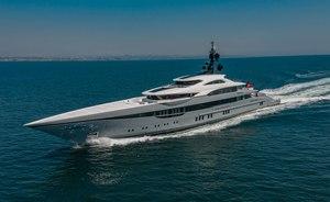 Brand new 80m superyacht TATIANA joins the charter fleet