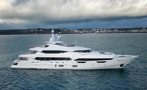 47m motor yacht PRINCESS AVK: rare opportunity for a last minute peak season yacht charter
