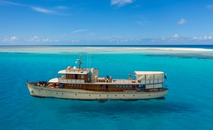 East Africa deal: charter superyacht 'Over the Rainbow' and stay on a private island