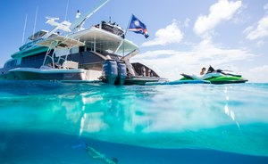 Superyacht UNBRIDLED Offers Special Charter Rate In The Caribbean