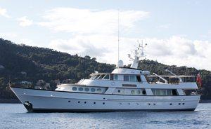 Last Chance To Book Motor Yacht Eleanor Allen in High Season