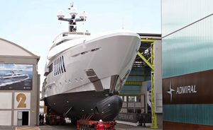 Admiral Yachts Prepares To Launch Brand New Superyacht OURANOS