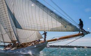 Sailing Yacht ELEONORA Shines at Panerai British Classic Week