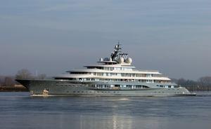 Video: brand new 136m Lurssen superyacht 'Project Shu' completes sea trials
