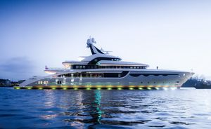 Watch: Charter yacht SOARING heads out on sea trials
