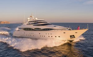 Last chance to charter 40m superyacht ALWAYS BELIEVE in Croatia
