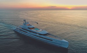 Benetti charter yacht LANA delivered