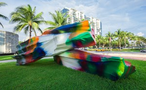 Superyachts Gather For Art Basel Miami 2017