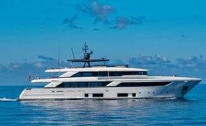 Brand new 42m superyacht SANGHA joins the charter fleet