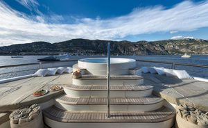 Video: Exclusive First Look Inside Refit Superyacht CHAKRA