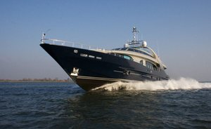 Superyacht 'One Blue' opens for Italy yacht charters