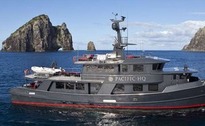 Charter Yacht 'PACIFIC HQ' Available From 1st August