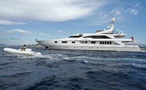 Superyacht 'QM OF LONDON' has Late Availability in Monaco