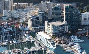 Gibralatar's 'Sunborn Yacht Hotel'  - More Stationary Cruise Ship Than Private Yacht