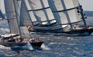 Charter yachts head to Sardinia for Perini Navi Cup 2018